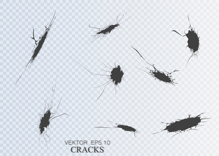 Set of cracks