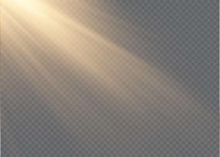 Vector transparent sunlight special lens flash light effect Stock fotó - 167362934