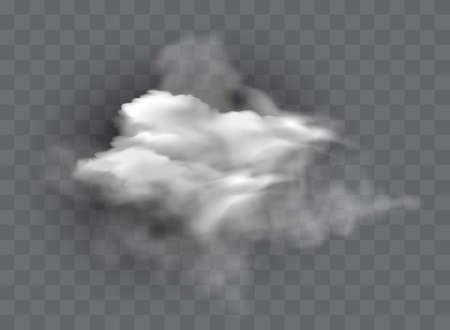 Vector set of realistic isolated cloud on the transparent background Stock fotó - 168027103