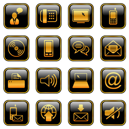 mobile icon: Communication - professional icons for your website, application, or presentation