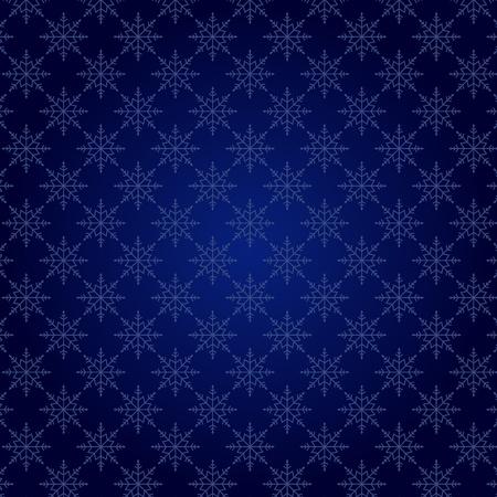 Abstract seamless snowflake pattern, vector illustration Stock Vector - 10692499