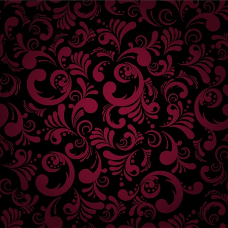 purple silk: Elegance seamless floral background, abstract vector illustration.EPS10. Contains transparent objects.