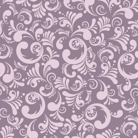 purple silk: Elegance seamless floral background, abstract vector illustration