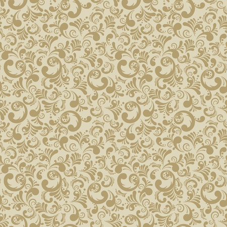 Elegance seamless floral background, abstract illustration Vector