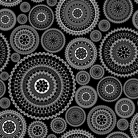 Decorative seamless lace background,abstract vector illustration Illustration