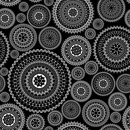 Décoratif fond transparent en dentelle, illustration vectorielle abstraite