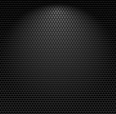 Metallic texture seamless pattern, Vector