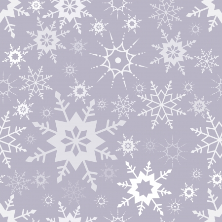 Seamless pattern with snowflakes, background Stock Vector - 16477901