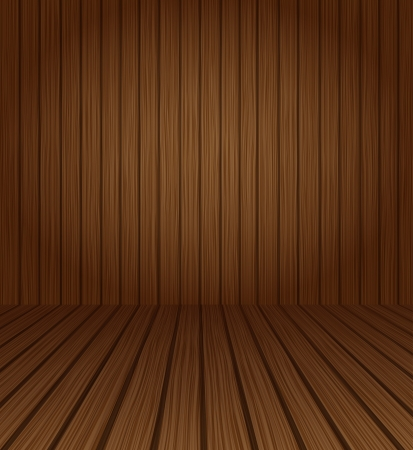 timber floor: Wood textured  background, vector illustration for you design