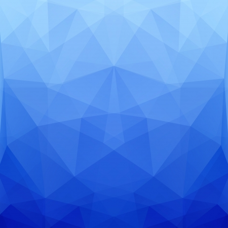 prism: Abstract Blue Vector Polygonal Background for Design