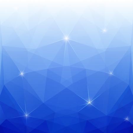 prisma: Resumen Azul Vector poligonal para el diseño
