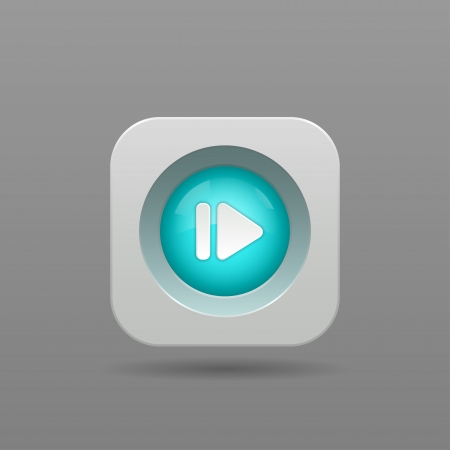 Next Button - Vector App Icon Vector