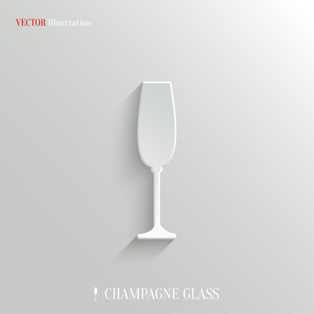 champagne: Champagne glass icon