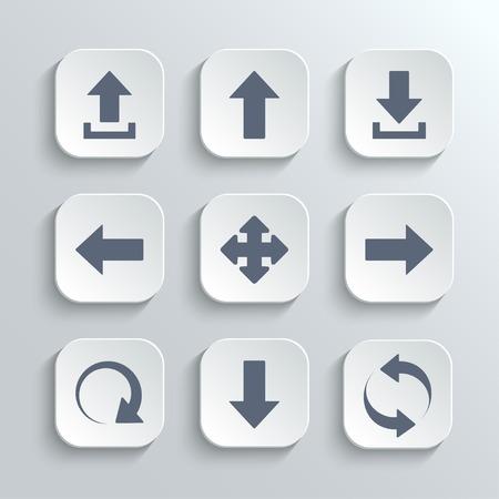 矢印のアイコンを設定