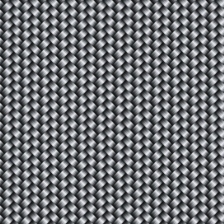Vector carbon fiber texture background, seamless patter