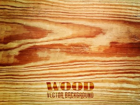 wooden texture: Vector Wood Realistic Texture, Dark Wooden Background for Your Design