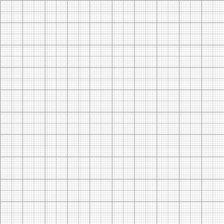 Vector graph millimeter paper seamless pattern