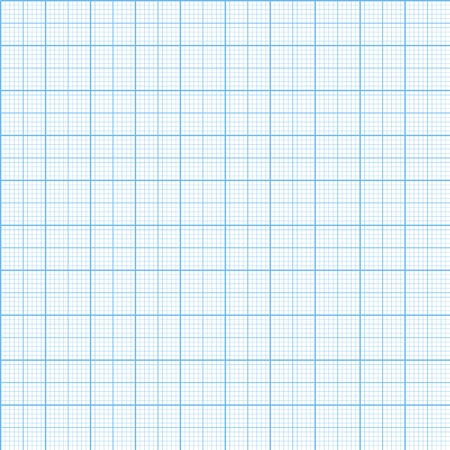mm: Vector graph millimeter paper seamless pattern