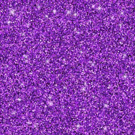 Purple glitter seamless pattern, vector textured background