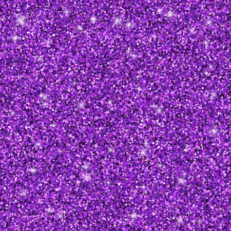 Purple glitter seamless pattern, vector textured background