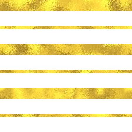 Gold glitzernde Folie nahtlose Muster Hintergrund mit Linien