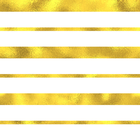 Gold glittering foil seamless pattern background with lines
