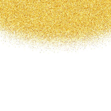 벡터 골드 반짝이 추상적 인 배경, 흰색 배경, 디자인 서식 파일에 황금 반짝임