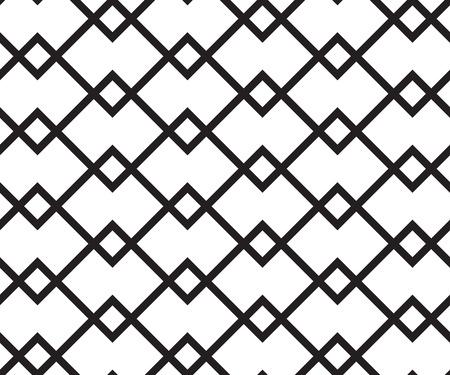 Forme géométrique transparente. Vector retro fond noir et blanc Vecteurs