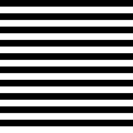 Vector Striped Seamless Pattern. Black and white background Ilustração