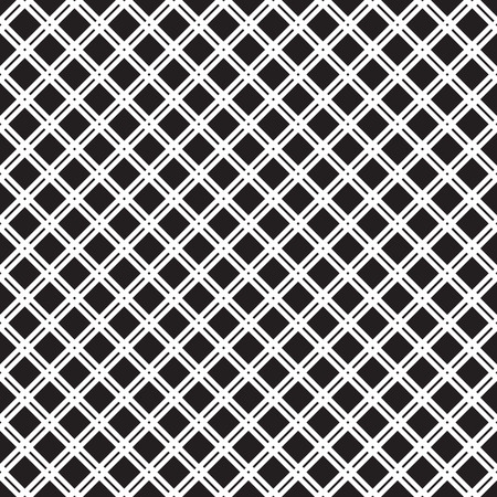 squares background: Classic abstract geometric grid vector seamless pattern.