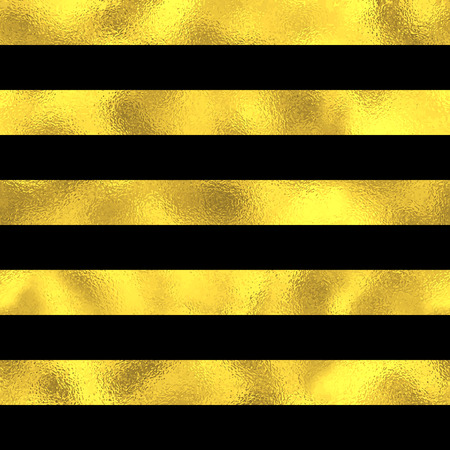 striped band: Abstract seamless pattern with wide golden horizontal stripes. Vector fashion background