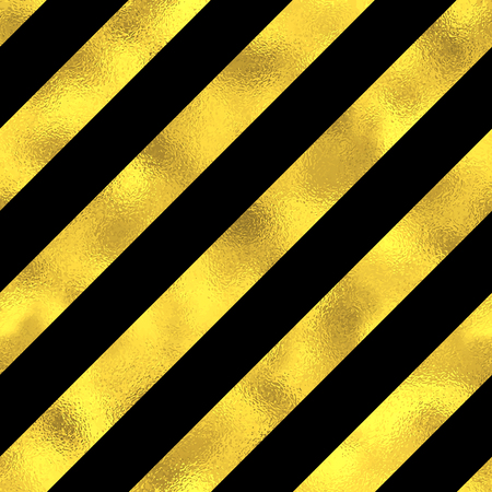 striped band: Abstract seamless pattern with golden diagonal stripes. Vector fashion background