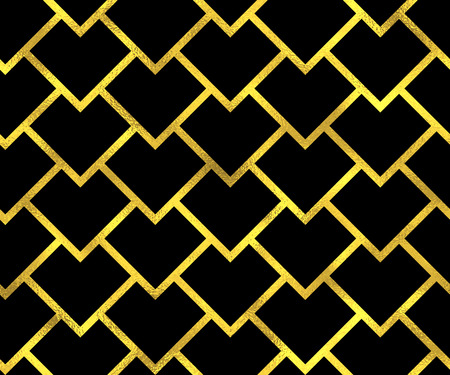 scaled: Abstract seamless scaled pattern with golden scales. Vector fashion background
