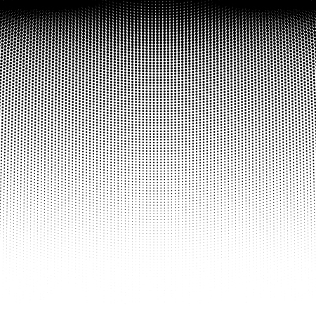 dirty: Vector abstract dotted halftone template background. Pop art dotted gradient design element. Grunge halftone textured pattern with dots.