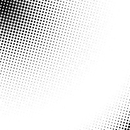 Abstract dotted halftone template.