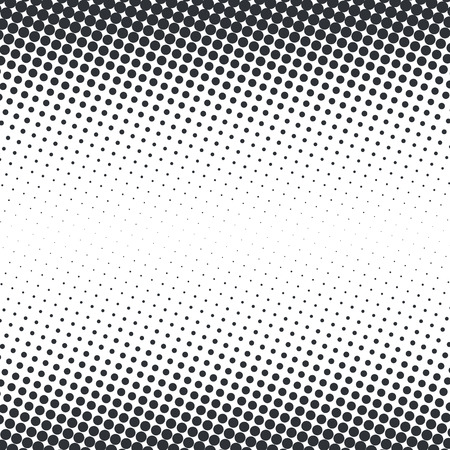 Abstract dotted halftone template illustration.