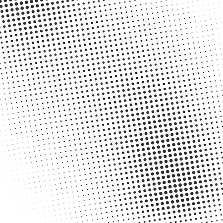 vector raster background: Vector abstract dotted halftone template background. Pop art dotted gradient design element. Grunge halftone textured pattern with dots.