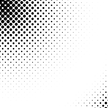 Vector abstract dotted halftone template background. Pop art dotted gradient design element.