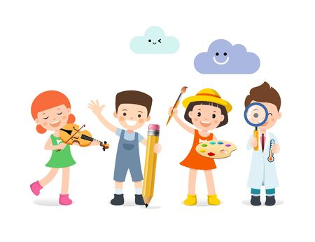 People who want to be children are musicians, scholars, painters, and scientists.