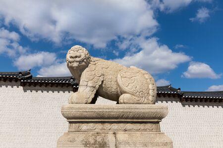 Haetae Stone Statue
