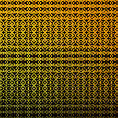 Abstract Geometric Luxury Black And Gold Pattern Illustration