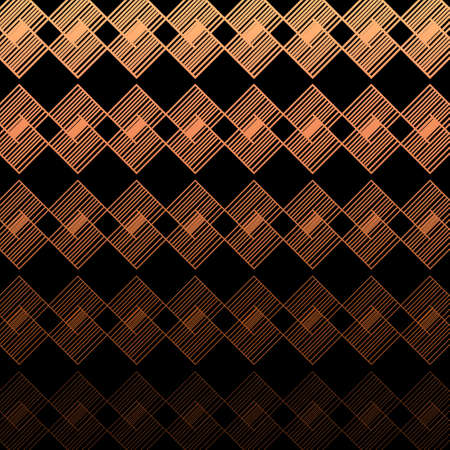 Modern Linear Geometric Pattern. Glowing Background. Linear Gradient