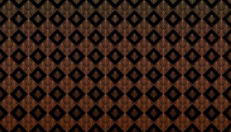 Modern Linear Geometric Pattern. Luxury Background. Radial Gradient