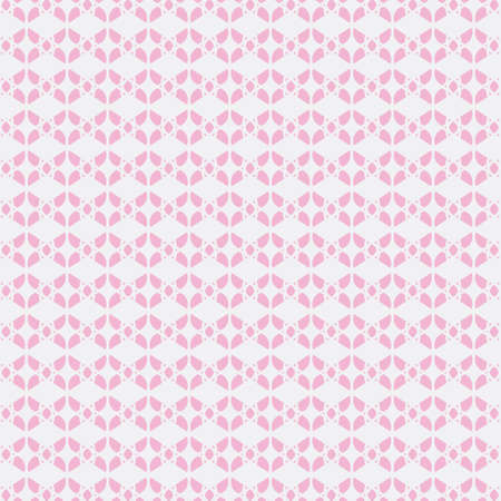 Modern Linear Geometric Seamless Pattern. Butterfly Concept Pastel Color