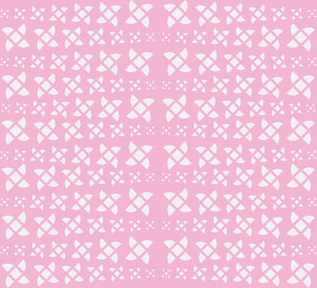 Modern Linear Geometric Seamless Pattern. Shuriken Concept Pastel Color