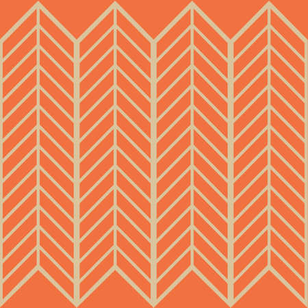 Arrow Waves A Seamless Pattern. Retro Color