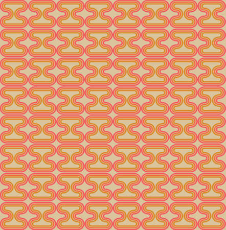 Hour Glass A Seamless Pattern. Retro Color