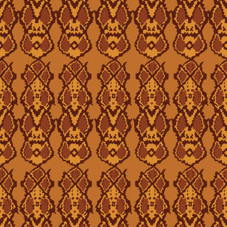 Abstract Pattern Ambient Amber Tone (Flowing Cobra)