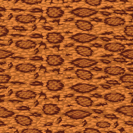 Abstract Pattern Ambient Amber Tone (Viper Scale)
