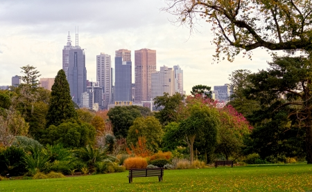 This beautiful Fall day in Melbourne is just waiting for you to enjoy. photo